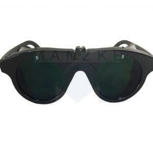 Schutzbrille schwarz
