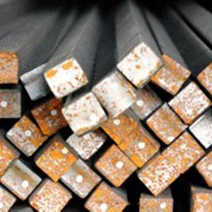 Vierkantprofil aus Stahl S235JR