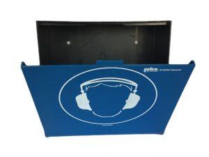 Gehörschutz Aufbewahrung geöffnet