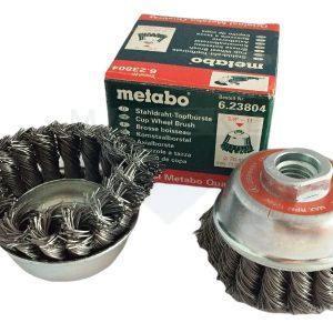metabo Stahldraht-Topfbürste
